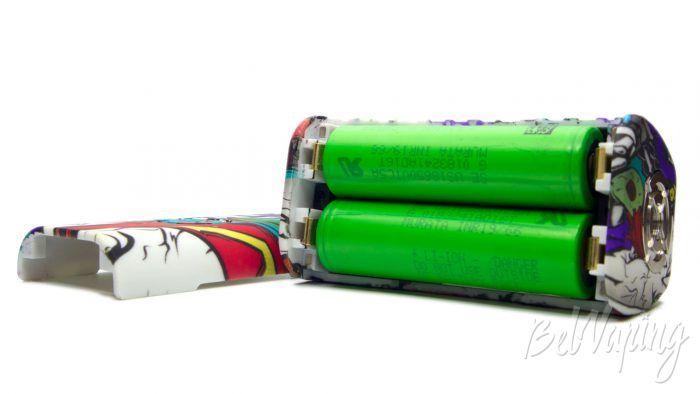 Hugo Vapor RADER MAGE - батарейный отсек