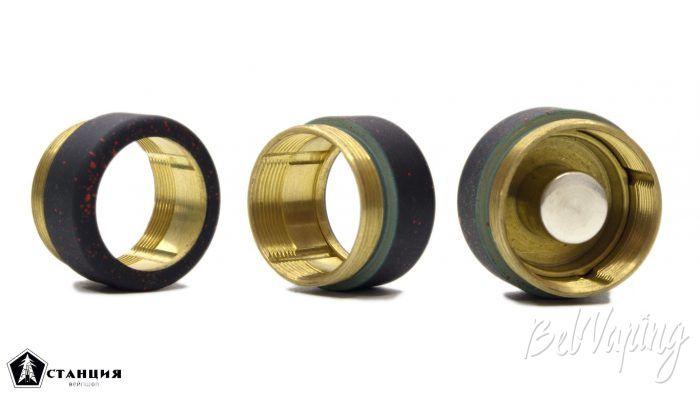 Механический мод LAKI v2 от Vulcan mods - корпус кнопки