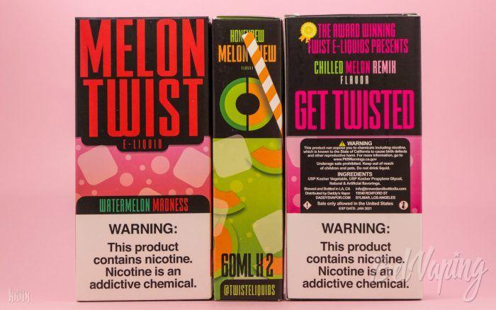 Упаковка жидкости Melon Twist E-Liquid