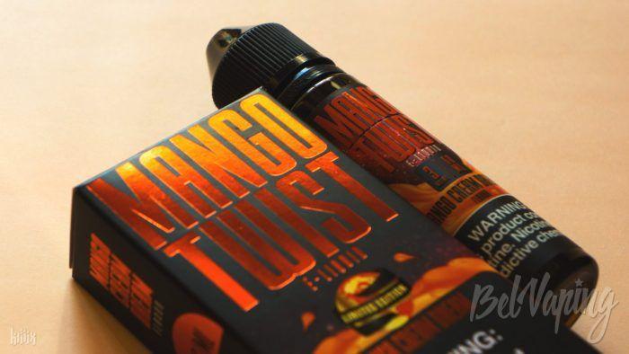 Обзор жидкости Mango Twist от Twist E-liquids
