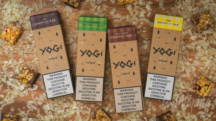 Обзор новых жидкостей Yogi E-Liquid