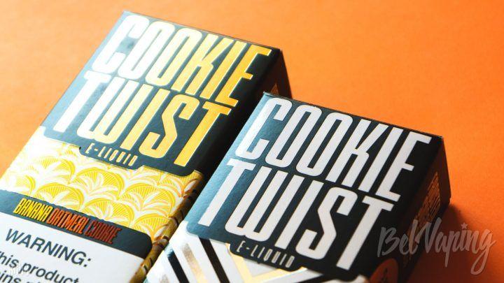 Обзор жидкости Cookie Twist от Twist E-liquids