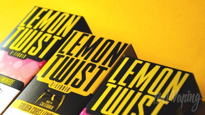 Обзор жидкости Lemon Twist от Twist E-liquids