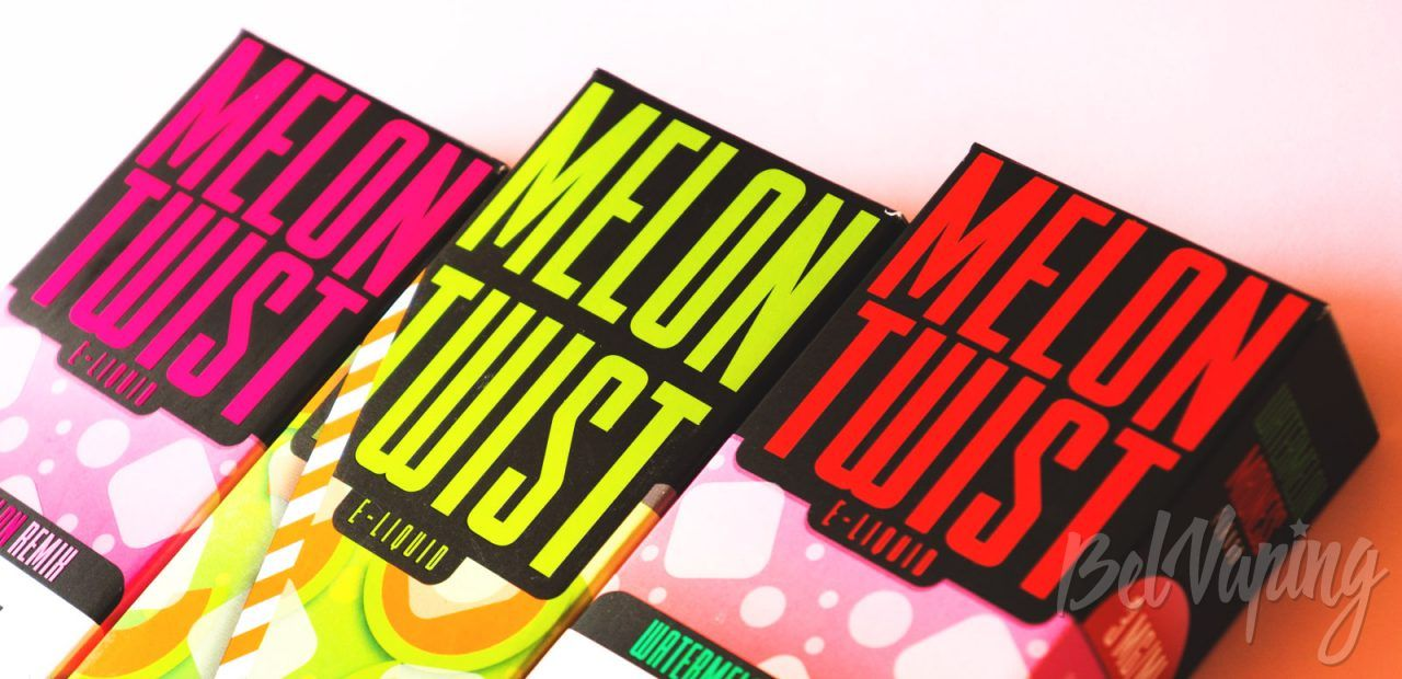 Обзор жидкости Melon Twist от Twist E-liquids