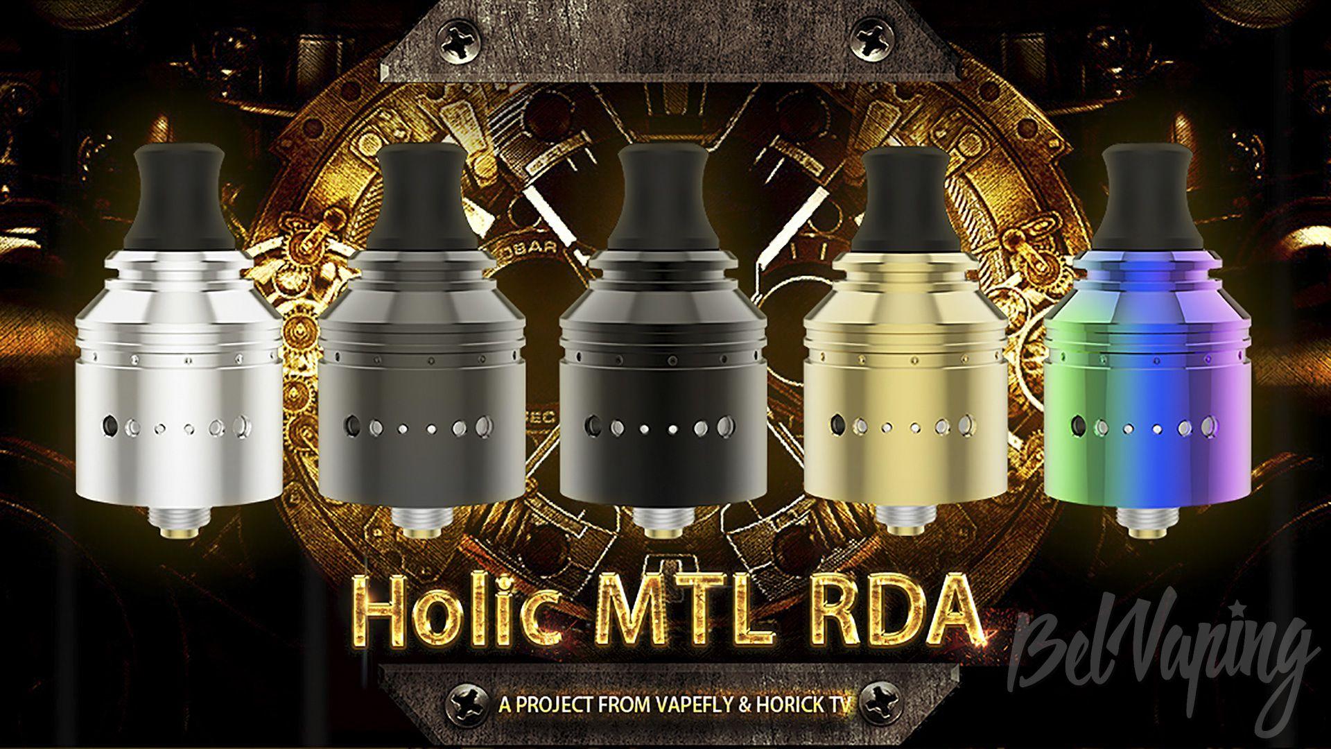 Цвета Vapefly Holic MTL RDA