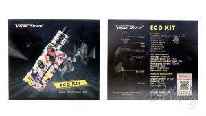 Vapor Storm ECO KIT - упаковка