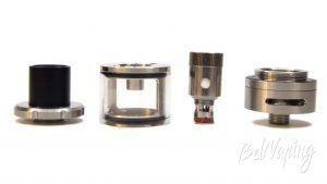 Vapor Storm ECO KIT Atomizer - составные части