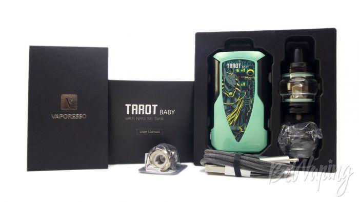 Vaporesso TAROT BABY with NRG SE Tank - комплект поставки