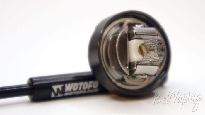Wotofo PROFILE UNITY RTA - установка сетки