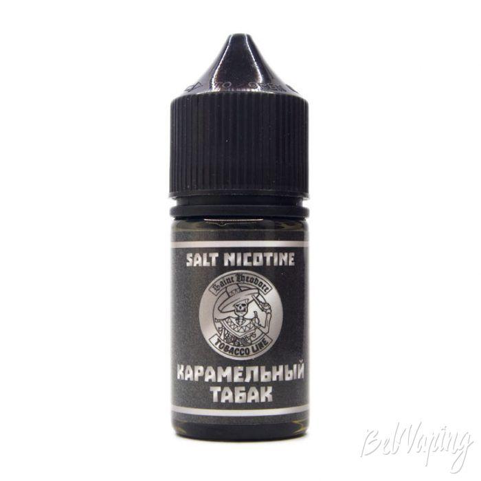 Жидкость TOBACCO LINE SALT - вкус КАРАМЕЛЬНЫЙ ТАБАК