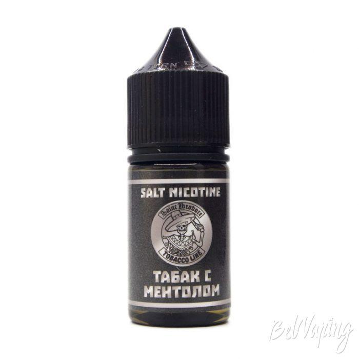 Жидкость TOBACCO LINE SALT - вкус ТАБАК С МЕНТОЛОМ