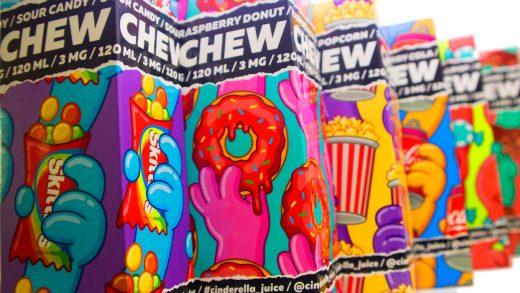 Обзор жидкости CHEW от Cinderella