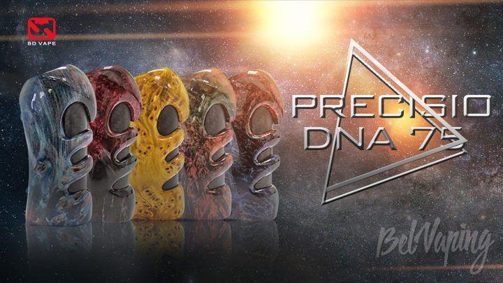 BD Vape Precisio DNA 75. Первый взгляд