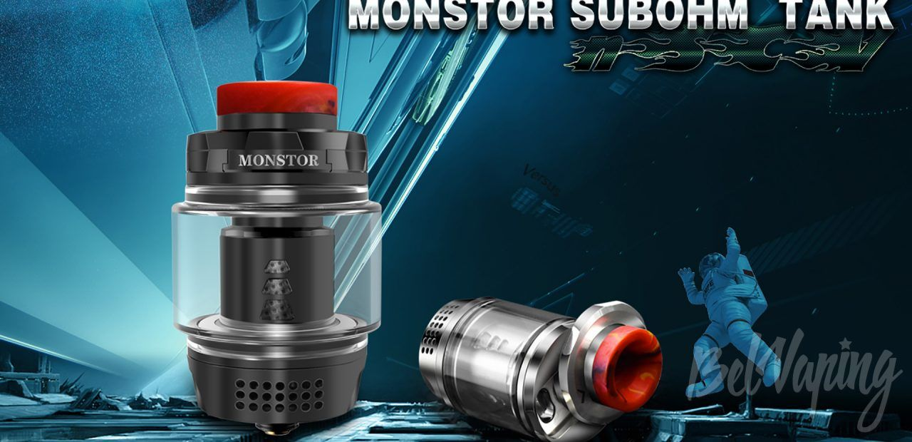 Blitz Monstor Sub Ohm Tank. Первый взгляд