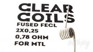 ClearCoils Fused FeCl 2x0.25x0.1