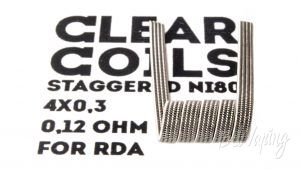 ClearCoils Staggeres NiCr 4x0.3x0.1