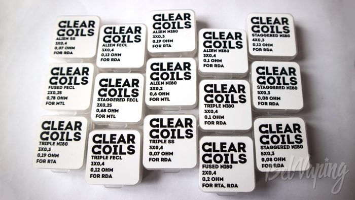 Clear Coils