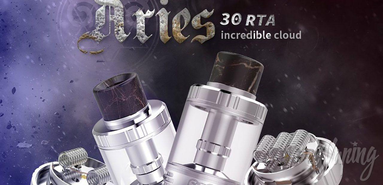 G-taste Aries 30 RTA. Первый взгляд