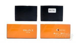 Geek Vape ZEUS X RTA - упаковка