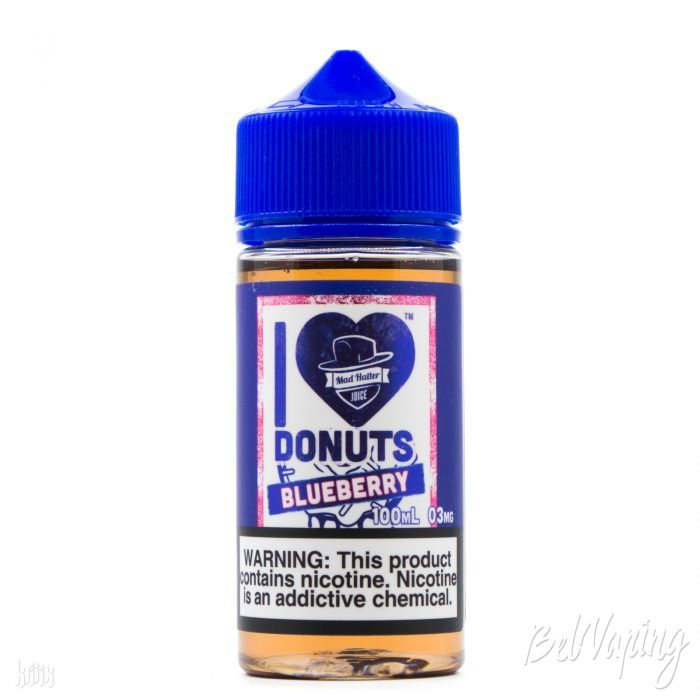Жидкость I Love Donuts Blueberry от Mad Hatter Juice
