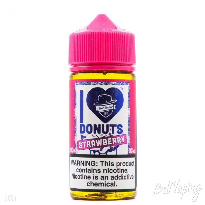 Жидкость I Love Donuts Strawberry от Mad Hatter Juice
