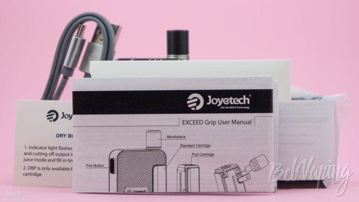 Инструкция Joyetech Exceed GRIP