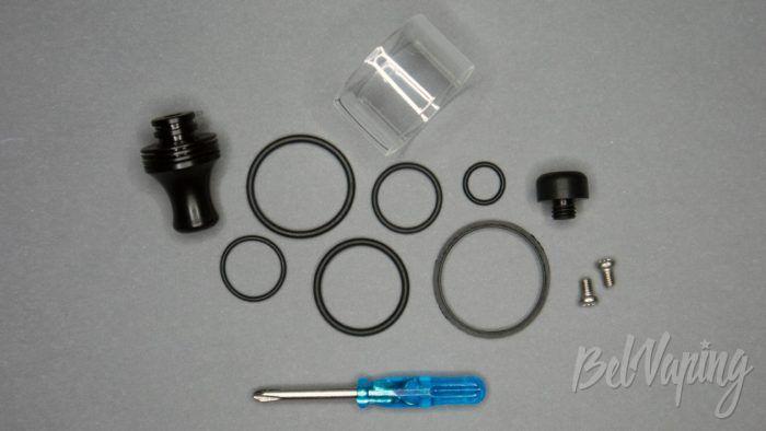 Клон BSKR 1.5 MTL RTA - дополнительные и запасные части