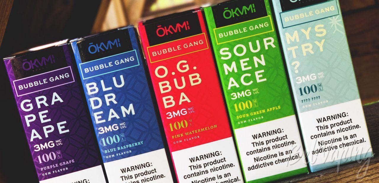 Обзор жидкости Bubble Gang от OKAMI