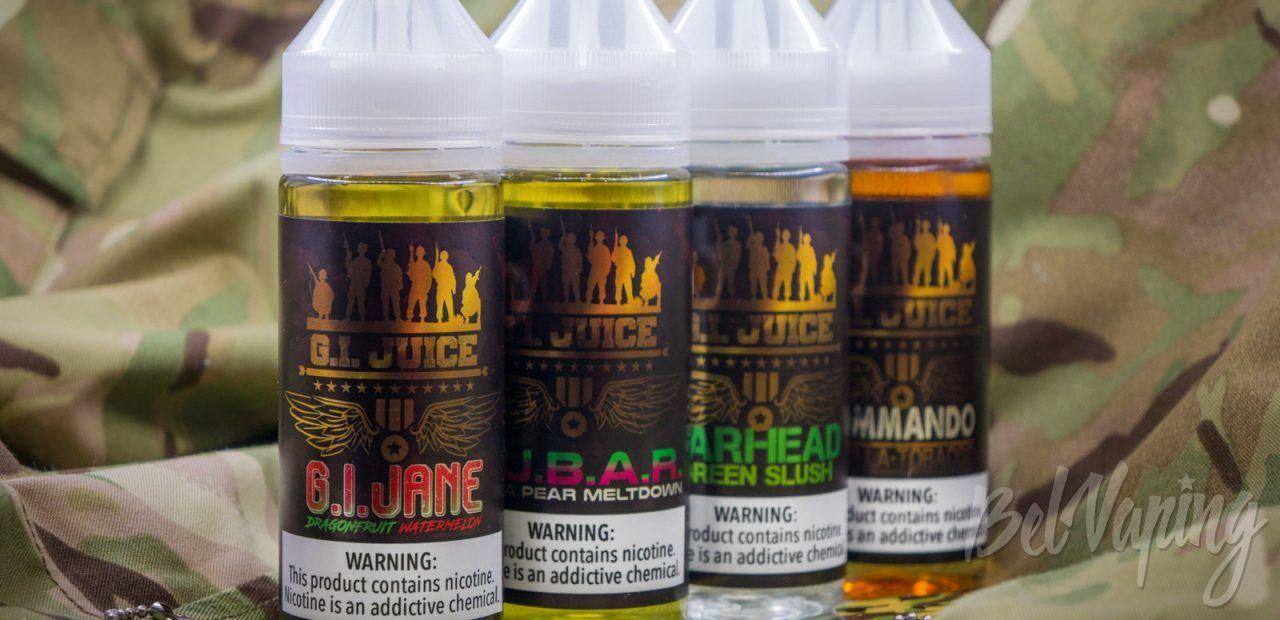 Обзор жидкости G.I. Juice от Fuggin Vapor