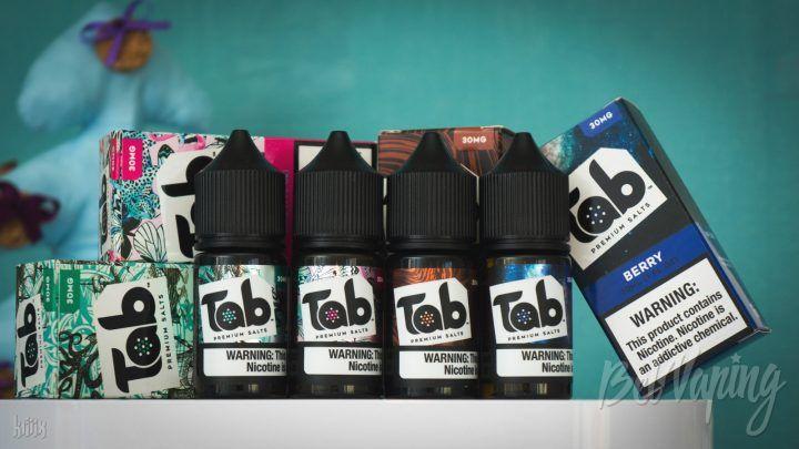 Обзор жидкости Tab Premium Salts Liquids