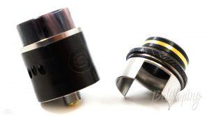 1110 Resin Drip Tip от Steelvape на Occula RDA