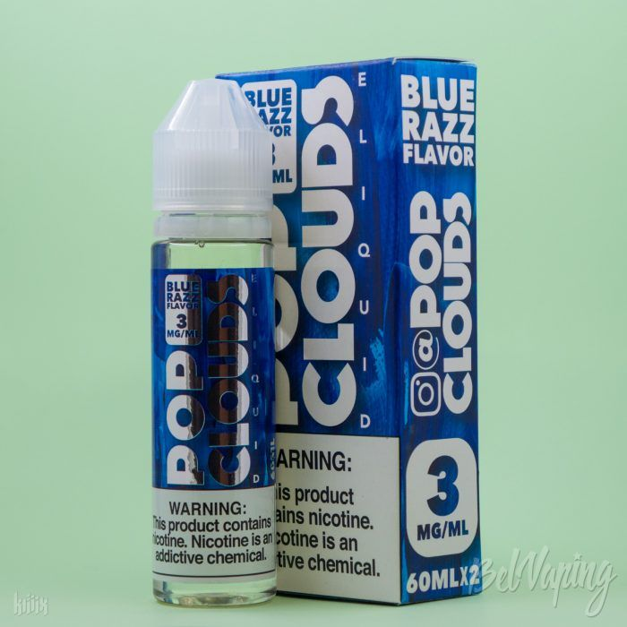 Жидкость Pop Clouds Blue Razz