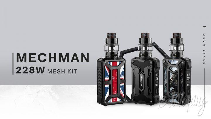 Rincoe Mechman Kit 228W. Первый взгляд
