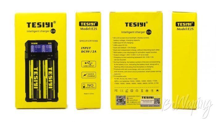 Tesiyi E2S. - упаковка
