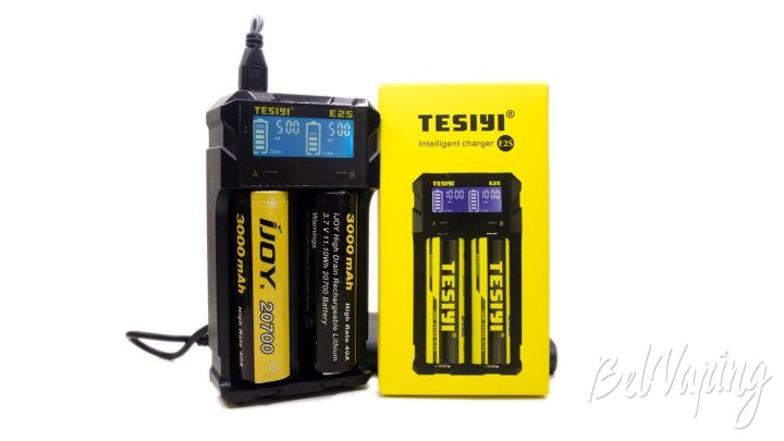 Обзор зарядного устройства Tesiyi E2S
