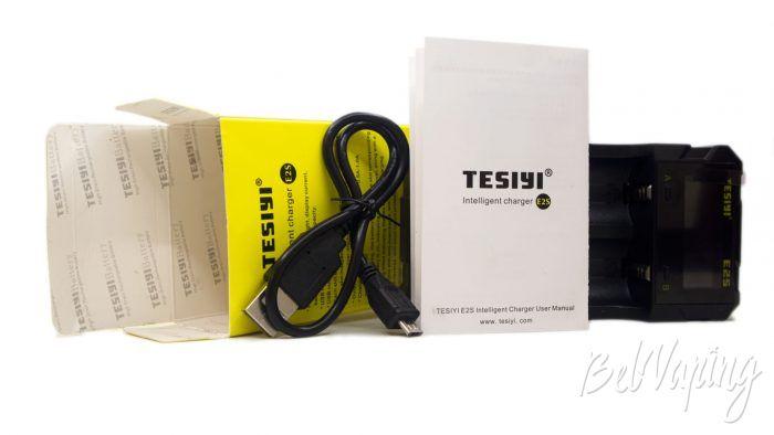 Tesiyi E2S. - комплект поставки