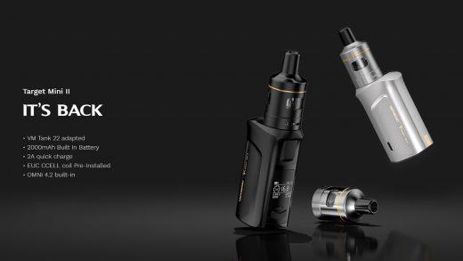 Vaporesso Target Mini 2 Kit. Первый взгляд