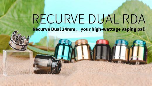 Wotofo Recurve Dual RDA. Первый взгляд