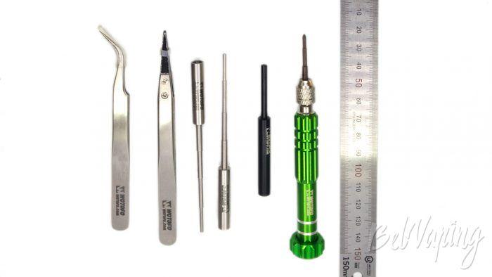 Wotofo VAPE TOOL KIT - размеры инструмента