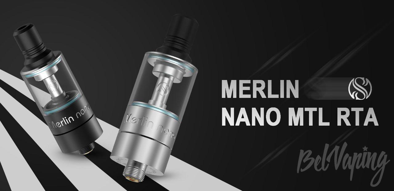 Augvape Merlin Nano MTL RTA. Первый взгляд
