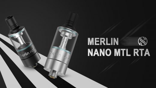 Augvape Merlin Nano MTL RTA. Первый взгляд
