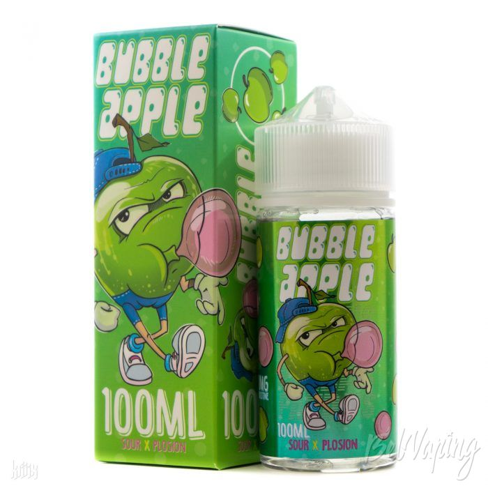 Жидкость Bubble Apple от Panda's Juice