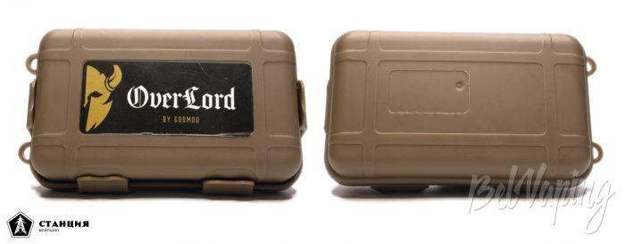 Механический мод OVERLORD от GODMOD - упаковка