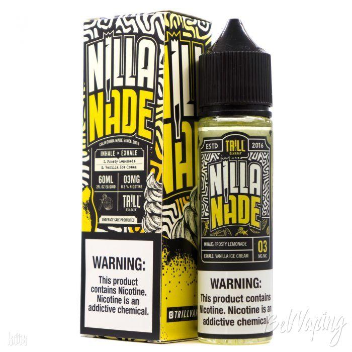 Жидкость Nilla Nade от Trill Classix E-Liquid