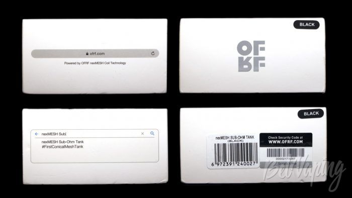 OFRF nexMESH Sub-Ohm Tank - упаковка