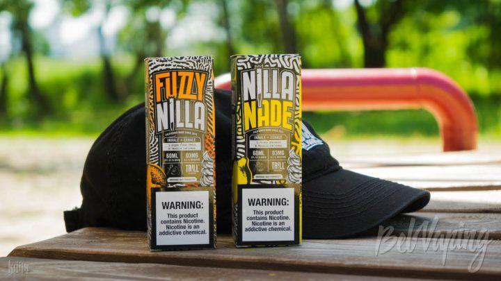 Обзор жидкостей Fuzzy Nilla и Nilla Nade от Trill Vapor