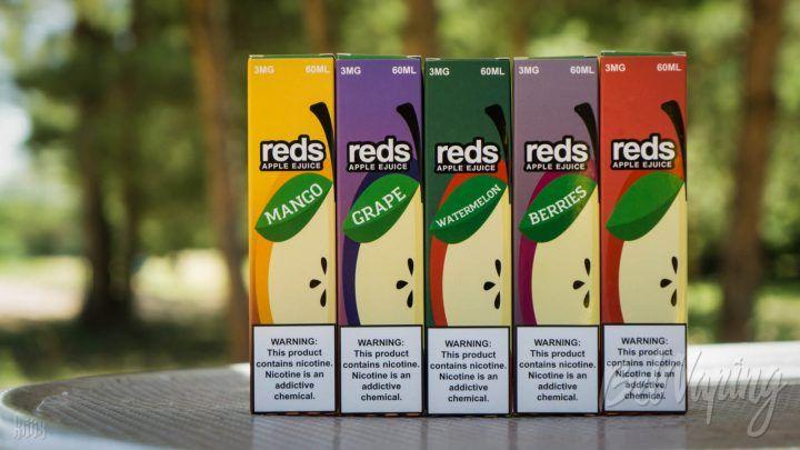 Обзор жидкости REDS от 7DAZE