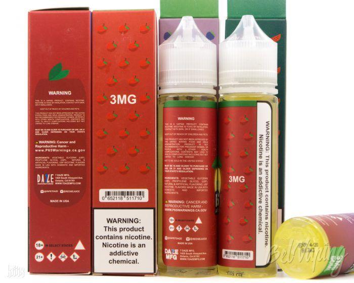 Упаковка и тара Reds Apple E-Juice