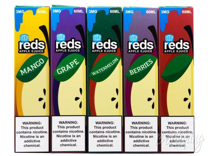 Линейка Iced Reds Apple E-Juice