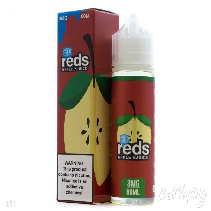 Жидкость REDS E-JUICE - ICED APPLE
